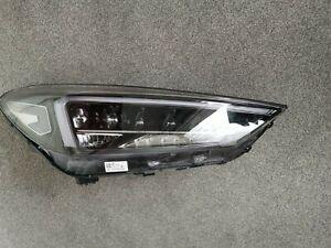 Hyundai Tucson, 2019, Headlight Headlamp, LED Genuine, Right-Side.
