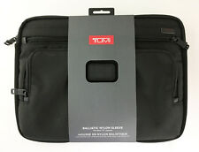 "New! TUMI Laptop Cover for 13"" Laptop, Ballistic Nylon Black (TULP-003-NBLK)"