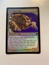 Foil Seht's Tiger - LP - Future Sight - MTG - Magic