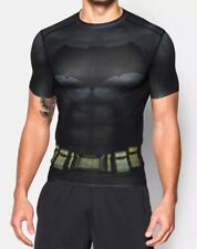 Under Armour Alter Ego Batman Men's Size SMALL Compression Shirt 1273690-040 NWT