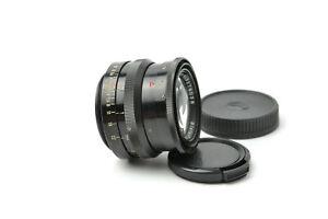 Biotar 58mm f/2 Lens M42 Red T Black 17 blades S/N 3276038, SERVICED!