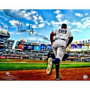 Aaron Judge New York Yankees Signed Autographed 16x20 Photo Stadium Fanatics