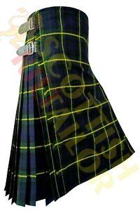 2021 SALE Scottish Gordon 13 OZ Tartan kilt Regular & Custom Size Kilts