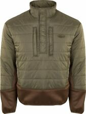 Drake Waterfowl Two-Tone Synthetic Double-Down 1/4 Zip LG
