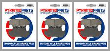 Honda CB 1100 RD 1983 Front & Rear Brake Pads Full Set (3 Pairs)