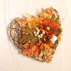 Halloween Autumn Harvest Pumpkin Garland Fall Maple Leaf Home Party Wreath Decor