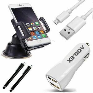 5in1 Car Set Charging Cable Car Mount Holder Touchpen+1m Cable HS1