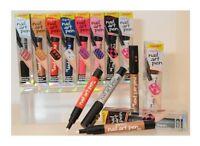 Sally Hansen Nail Art Pen Lot of 5 Different Nail Art Pens 5 Different Color Pen