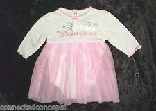 BABY GLAM~BLACK//RASPBERRY~VERY MERRY INFANT GIRL CHRISTMAS DRESS~NB~3M~6M~9M~NWT