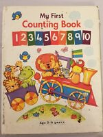 MY FIRST COUNTING BOOK BY BRIMAX 1995 AGES 3-6 FREE SHIPPING