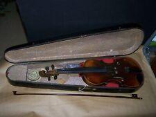Antique GIOVAN PAOLO MAGINI BREFCIA 1694 VIOLIN w/ wood Case old
