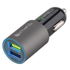 Caricabatterie auto doppio 4smarts rapido 30W 6A per Apple iPad Mini Pro Q5I