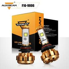 AUXBEAM F-16 9006 HB4 CREE LED Headlight Kit 60W 6000LM Bulbs 6000K White Pair