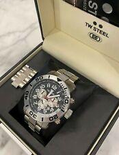 TW Steel Grandeur Diver 45 MM Black Dial Chronograph Steel Men's Watch TW70