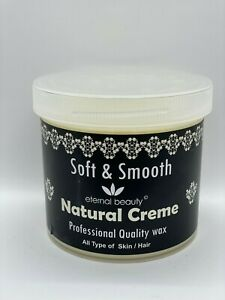 Natural Creme Wax Soft and Smooth Super Quality for All Type of Skin 450gm