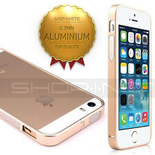 COQUE HOUSSE ETUI BUMPER★METAL ALUMINIUM★0.7MM★COMPATIBLE  IPHONE  5 5S