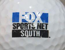 (1) FOX SPORTS NET SOUTH TELEVISION NETWORK LOGO GOLF BALL