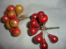 Vintage Small Enamel Pears