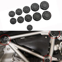Frame Cap Frame Hole Cover Caps Plugs Decor Set  11PC BMW R NINET 2019 18