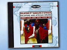 Balafons Et Tambours D'Afrique CD Balafons And African Drums PLAYER SOUND AFRIKA