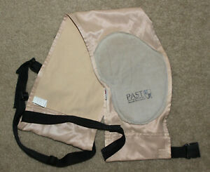 PAST Recoil Protection Shooters Pad Harness - Suede Pad - Excellent