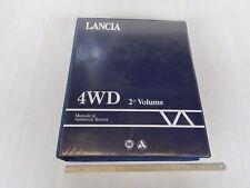 MANUALE ORIGINALE OFFICINA LANCIA Y10 SOLO 4WD 4x4 FINO AL '95