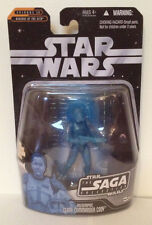 Star Wars The Saga Collection Holographic Clone Commander Cody Action Figure
