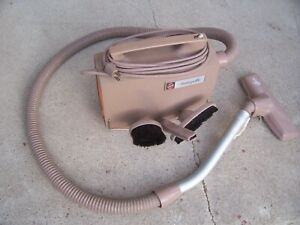 Hoover Model 404 Swingette Portable Vacuum Cleaner with Attachments Mini