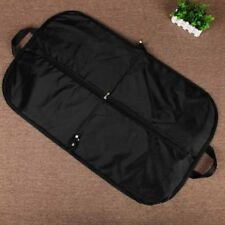 black oxford cloth hanging suit coat dust cover protector wardrobe storage bagSC