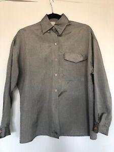 diane von furstenberg Grey Button Down Shirt Size 6