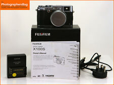 Fuji x100s 16.3MP Digital Camera Body, Battery, Charger Free UK Post