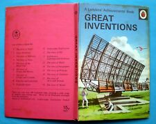 Great Inventions Ladybird vintage book radar jet bicycle telephone railway 1961