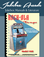 Rock Ola 1468 Service Manual, Parts Catalog & Installation and Operations Guide