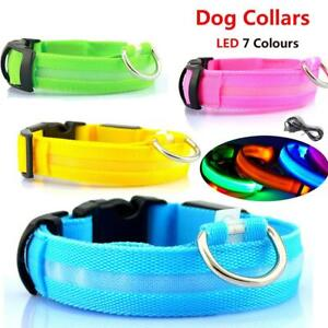 LED Dog Collar, three modes, battery included