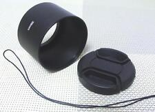 39 mm Metal Camera Lens Hood + 46 mm Cap for Tele Lens 39TC46