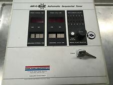 Air-o-blast automatic sequential timer, sequence timer