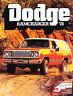 1978 Dodge Ramcharger Original Sales Brochure Catalog