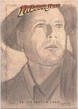 """Indiana Jones Heritage - RARE Justin Chung """"Indiana Jones"""" Sketch Card"""