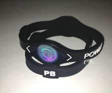 (2pcs) SMALL BLACK Power Band Bracelet Wristband for ENERGY - Ships From USA