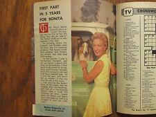 1965 Wash. Evening Star TV Mag(BONITA  GRANVILLE/LINDA  KAYE  HENNING/DAVE CLARK