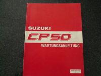 Suzuki  CP 50 Wartungsanleitung