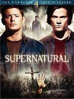 Supernatural - The Complete Fourth Season (DVD, 2009, 6-Disc Set)