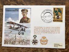 Belgium 1978 2nd Lt Edmond Thieffry , Flown Cover