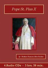 Pope St. Pius X Unabridged Catholic Audiobook CD Set Audio Book