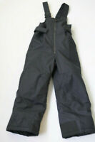 Columbia Snowsuit Snow Pants Omni Shield Youth Kids Black Insulated Size 4 / 5