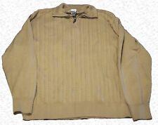 Men's Cardigan Sweater XL Geoffrey Beene Men's Quarter Zip up B18