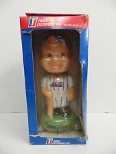"New York Mets MLB Happy Boy Smiling Bobble Head About 8"" Tall 042716ame7"