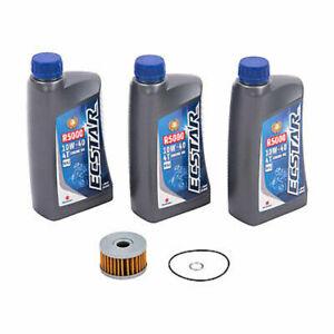 OEM Oil Change Kit Suzuki DR650S,1996-2021,3qts w/10w-40 & Filter,Dual Sport