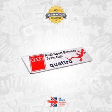 Audi Sport Germany Team Goh Badge Emblem TT TTS TTRS S5 S3 Q7 S Line Quattro 29