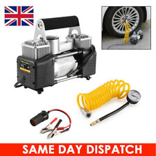 Heavy Duty 150PSI 12V Tyre Inflator Pump Air Compressor High Speed for Car Van